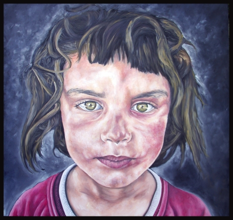 Siria/huile sur toile/120 x 120 cm